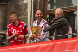 FC Bayern Munich - Double 2014 (0764) Tom Starke