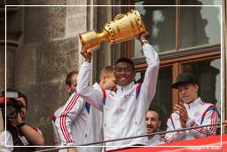 FC Bayern Munich - Double 2014 (0794) David Alaba