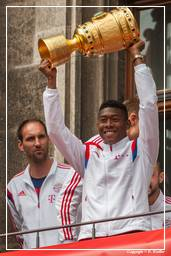 FC Bayern Munich - Double 2014 (0795) David Alaba