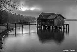 Ammersee (487) Inning am Ammersee Black-and-white