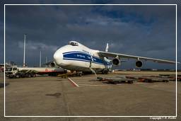 GIOVE-B Launch Campaign (0237) GIOVE-B transport to Baikonur with Antonov AH-124