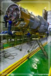 GIOVE-B Launch Campaign (4791) Mating Block E on Soyuz Packet