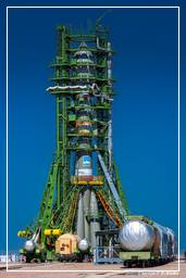 GIOVE-B Launch Campaign (5500) Soyuz Launch Day-2