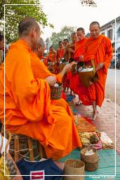 Luang Prabang Alms to the Monks (192)